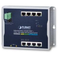Switch mural 8 Giga + 2 SFP IP30 -40/+75° L2