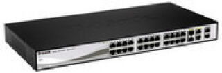 "Switch 19"" Websmart 24x 100Mb +2 Giga/SFP +2 Giga"