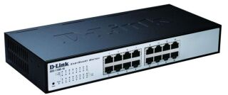 """Switch 11"""" Easy Smart 16 ports 100Mbits"""