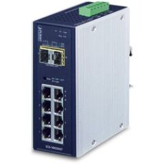 Switch indus manag. IP30 8x Giga +2 SFP -40/75ø