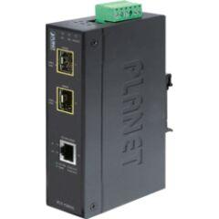 Transceiver indus ethernet 1 RJ45 Giga / 2x SFP