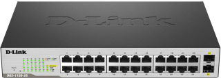 Switch Easy Smart 24 ports GIGA + 2 SFP GIGA