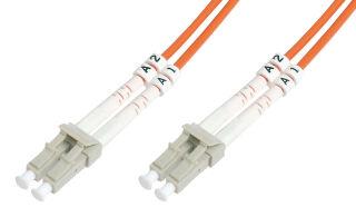 Câble à fibres optiques OM2 , connecteur LC - connecteur LC,