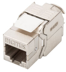 DIGITUS module Keystone Cat. 6, blindé