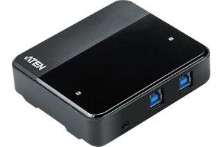 ATEN US234 hub 4 ports USB 3.1 Gen1 partagés sur 2 PC/Mac