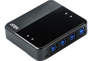 Aten US434 hub 4 ports USB 3.1 Gen1 partagés sur 4 PC/Mac