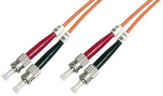 Câble à fibres optiques OM2, connecteur ST - connecteur ST,