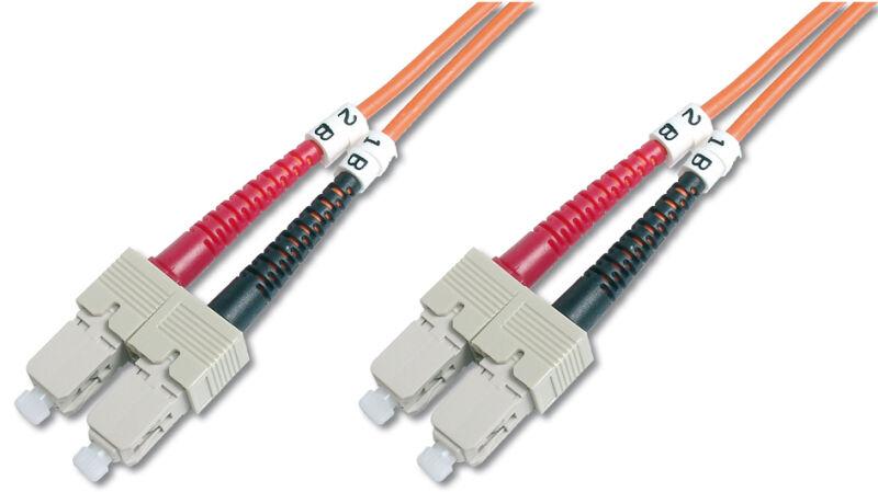 Câbles à fibres optiques OM2 , connecteur SC - connecteur SC