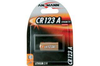Pile ansmann CR123 a blister de 1