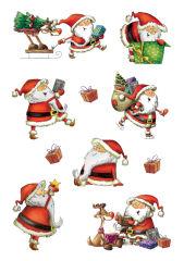 HERMA Stickers de Nöel DECOR 'Santa Claus'