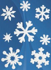 HERMA Autocollants de Noel MAGIC feutre 'cristaux de glace',