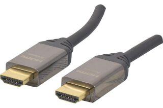 Cordon HDMI®  Premium haute vitesse avec Ethernet -1M