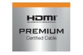 Cordon HDMI®  premium highspeed avec ethernet -1M