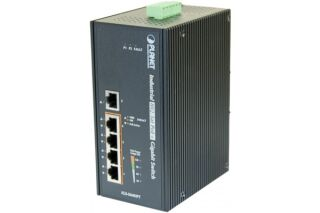 Planet IGS-504HPT sw.indust. 5P gigabit dont 4 PoE+