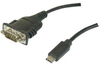 Convertisseur USB type C vers DB9 RS-232 série port COM