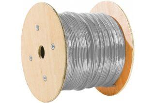 Câble multibrin S/FTP CAT7 LS0H gris - 305 m