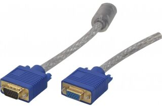 Cable svga or transparent HD15MF 5M