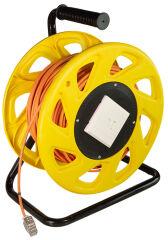 LogiLink Tambour à câble pour réseau, Cat. 6A avec câble