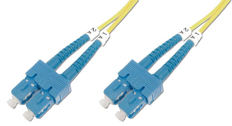c ble fibres optiques singlemode connecteur sc connecteur achat vente digitus professional. Black Bedroom Furniture Sets. Home Design Ideas
