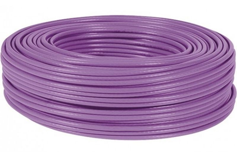cable monobrin u ftp cat6a violet ls0h rpc eca 100m achat vente m d c 612037. Black Bedroom Furniture Sets. Home Design Ideas