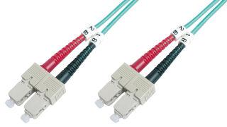 Câbles à fibres optiques OM3 , connecteur SC - connecteur SC