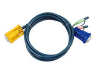 Câble KVM 2L-5202A - VGA/AUDIO vers SPHD 3m