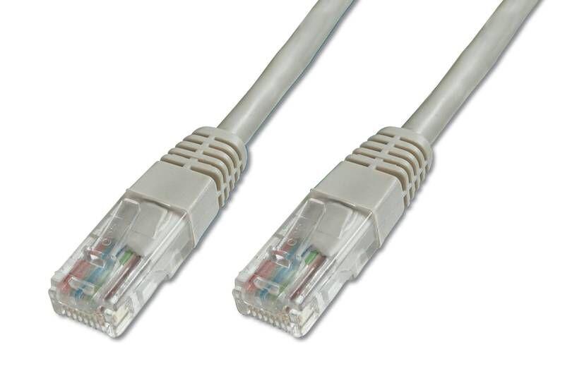 Câble RJ45 Premium Cat5e U/UTP, 2 m, gris