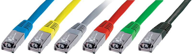 Câble RJ-45 Premium Cat5e U/UTP, 1 m, bleu