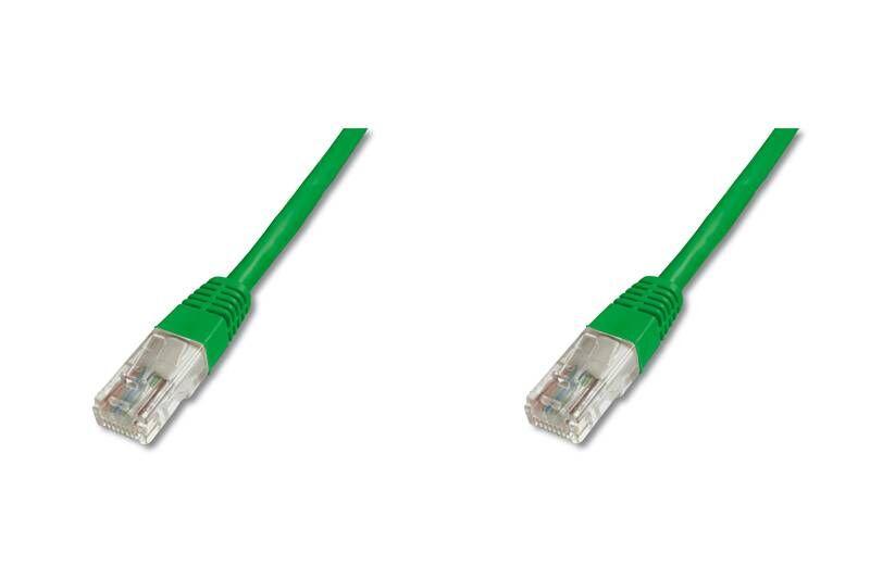 Câble RJ45 Premium Cat.5e U/UTP 10 m, vert