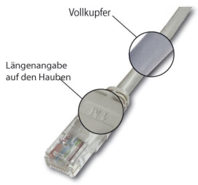 Câble RJ45 premium S/FTP Cat.5e rouge, 5 M