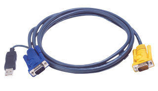 Câble KVM 2L-5203UP USB/VGA vers SPHD 3m