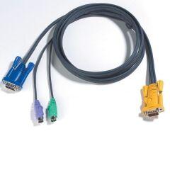 Câble KVM 2L-5206P PS2/VGA vers SPHD 6m