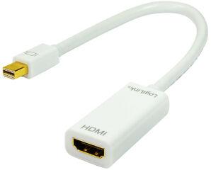 LogiLink adaptateur, mini displayPort mâle - HDMI femelle