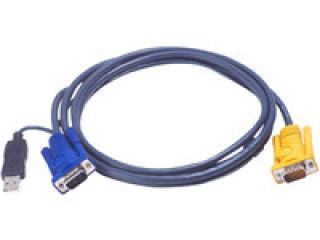 Cable kvm ATEN série 2L-52xxUP - 1.8M