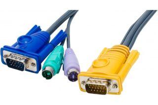 Cable kvm E5 ATEN 2L-52xxP - 10M