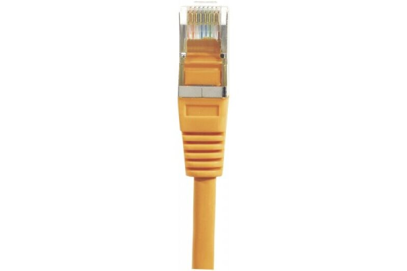 Câble RJ45 CAT6 F/UTP premium Orange - 0,50 M