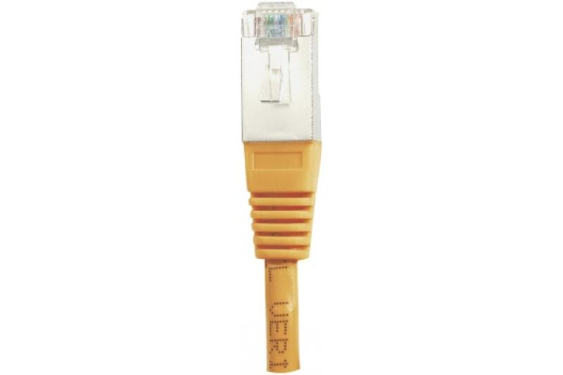 Câble RJ45 CAT6 F/UTP premium Orange - 1 M