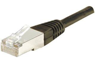 Câble RJ45 CAT6 F/UTP premium Noir - 1 M