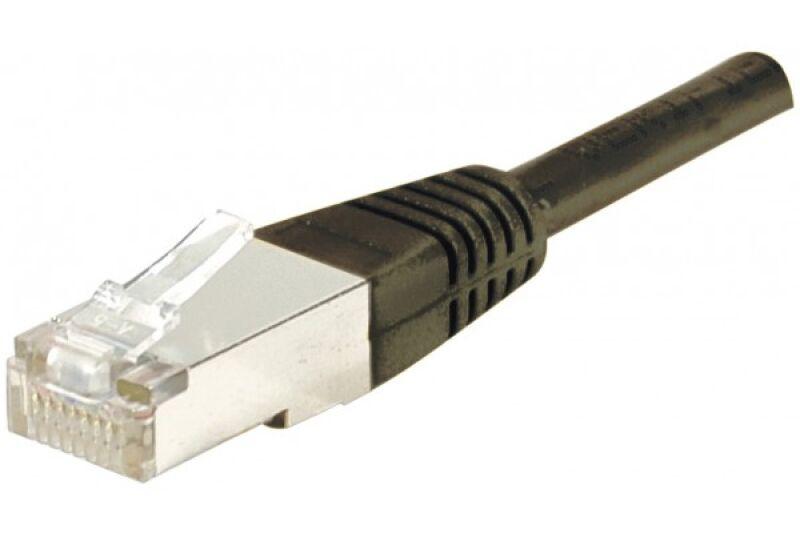 Câble RJ45 CAT6 F/UTP premium Noir - 20 M