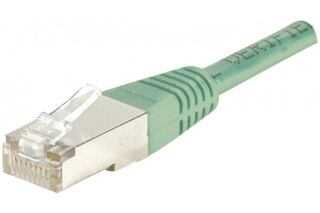 Câble RJ45 CAT6 F/UTP premium Vert - 10 M