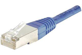 Câble RJ45 CAT6 F/UTP premium Bleu - 7 M