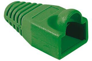 Manchons câbles RJ45, diam. 5.5 mm, vert (x10)