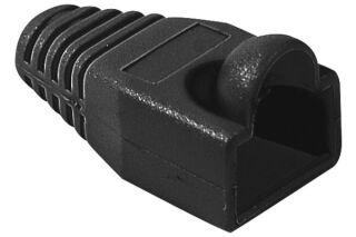 Manchons câbles RJ45, diam. 5,5 mm, noir (x10)