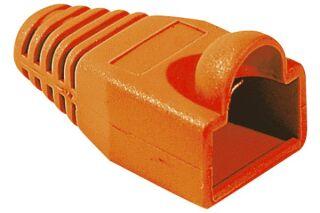 Manchons câbles RJ45, diam. 5,5 mm, orange (x10)