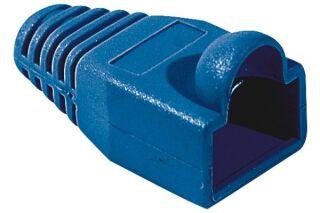 Manchons câbles RJ45, diam. 6 mm, bleu (x10)