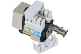 Embase RJ45 courte CAD Cat.5e - blindée (FTP)