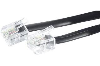 Câble téléphonique RJ11 10M