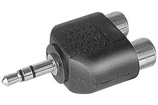 Adaptateur 2 RCA F / Jack 3.5mm M stéréo