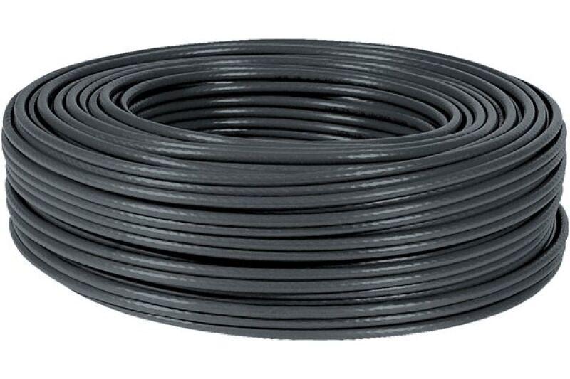 Câble RJ45 Cat. 6, F/UTP Multibrin, 100 m noir