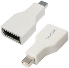 Adaptateur, Mini DisplayPort fiche mâle - fiche femelle